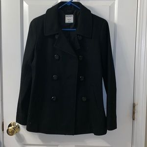 Black Old Navy Pea Coat